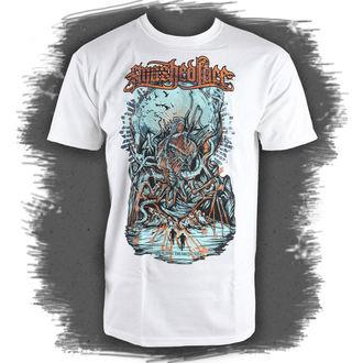 t-shirt metal men's Smashed Face - Breaching - NNM - Breaching - White