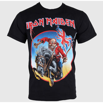 t-shirt metal men's Iron Maiden - - ROCK OFF - IMTEE01MB