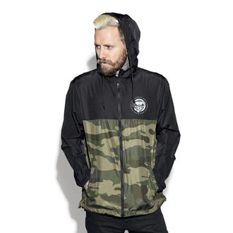 spring/fall jacket unisex - Staple Black on Camo - BLACK CRAFT, BLACK CRAFT