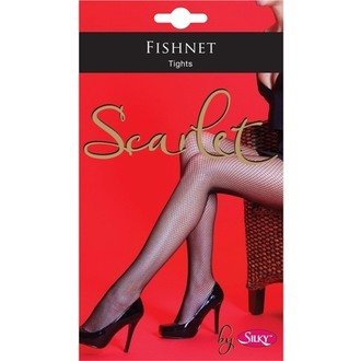 tights LEGWEAR - Scarlet - Fishnet