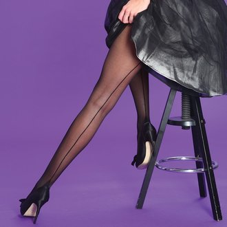tights LEGWEAR - Scarlet - Seamer - SHSCST2BL1