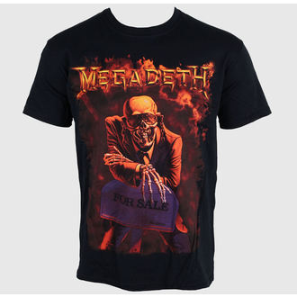 t-shirt metal Megadeth - Peace Sells - PLASTIC HEAD - RTMGD002