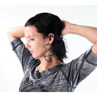 earrings KILLSTAR - Pentagram Hoop, KILLSTAR