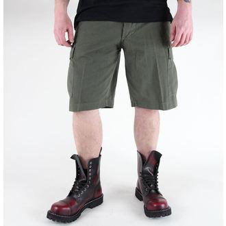 shorts men MIL-TEC - US Bermuda - Prewash Olive - 11402001