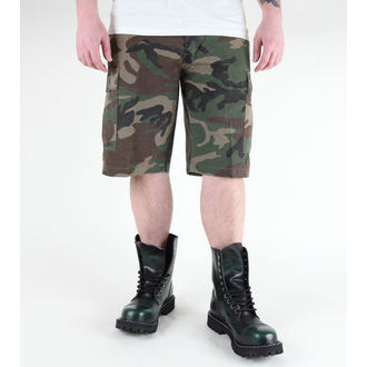 shorts men MIL-TEC - US Bermuda - Prewash Woodland - 11402020