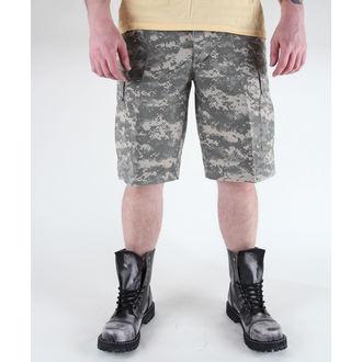 shorts men MIL-TEC - US Bermuda - Prewash At-Digital - 11402070