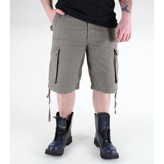 shorts men MIL-TEC - Paratrooper - Prewash Olive - 11403001