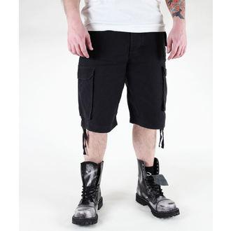 shorts men MIL-TEC - Paratrooper - Prewash Black - 11403002