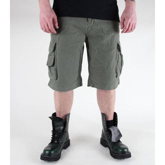 shorts men MIL-TEC - US Aviator - Prewash Olive - 11404001