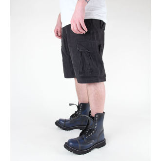 shorts men MIL-TEC - US Aviator - Prewash Black - 11404002