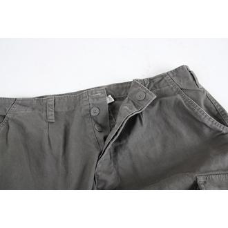 shorts men MIL-TEC - BW Bermuda - Prewash Olive - 11405001