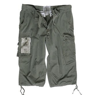 shorts men 3/4 MIL-TEC - Air combat - Prewash Olive, MIL-TEC