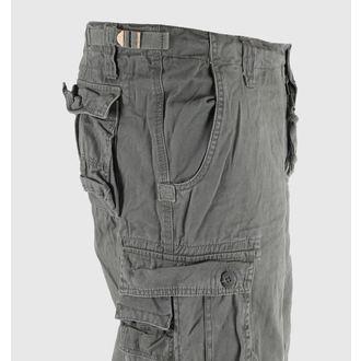 shorts men 3/4 MIL-TEC - Air combat - Prewash Olive - 11410001