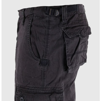 shorts men 3/4 MIL-TEC - Air Combat - Prewash Black - 11410002