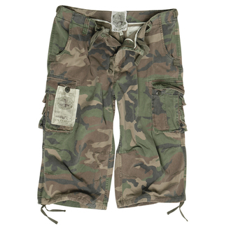 shorts men 3/4 MIL-TEC - Air Combat - Prewash Woodland, MIL-TEC