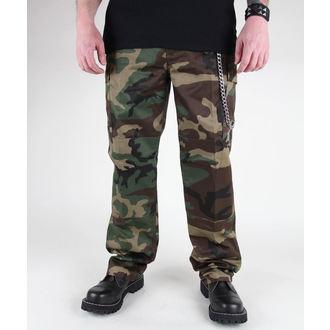 pants men MIL-TEC - US Feldhose - Woodland - 11805020
