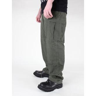 pants men MIL-TEC - US Feldhose - CO Prewash Olive, MIL-TEC