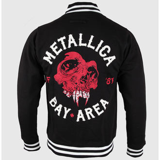 sweatshirt (no hood) men's Metallica - Bay Area Skull - NNM - RTMTLVJBAY
