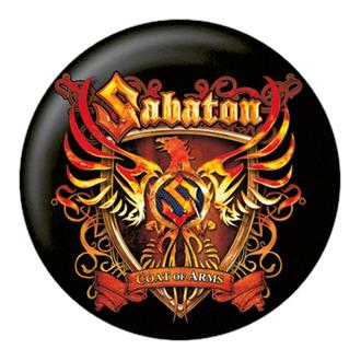 badge Sabaton - Coat Of Arms - NUCLEAR BLAST, NUCLEAR BLAST, Sabaton