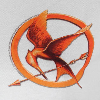 film t-shirt women's Hunger Games - Mocking Jay Pin - LIVE NATION, LIVE NATION