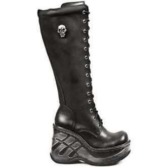 wedge boots women's - ITALI NEGRO - NEW ROCK - M.9811-S10
