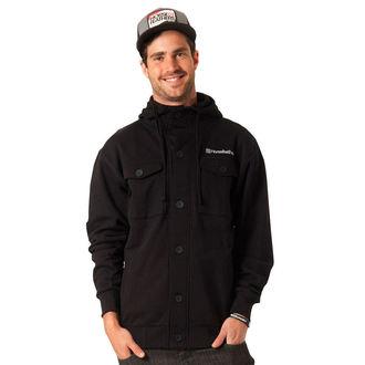 sweatshirt (no hood) men's - Sage - HORSEFEATHERS - Sage - BLACK
