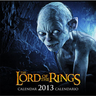 calendar to year 2013 Men rings - English & Spanish Version, NNM, Pán prstenů