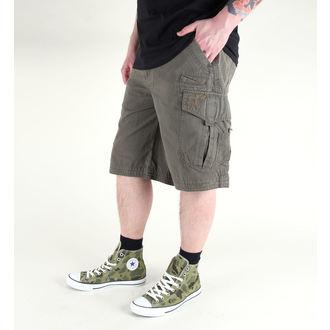 shorts men FOX - Slambozo -SOLID - MILITARY