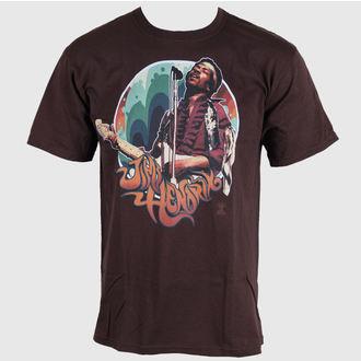 t-shirt metal men's Jimi Hendrix - Hendrix Groove - LIQUID BLUE, LIQUID BLUE, Jimi Hendrix