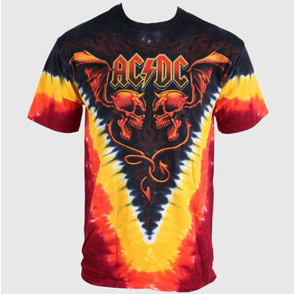 t-shirt metal men's AC-DC - Evil Wings - LIQUID BLUE - 11803