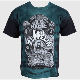 t-shirt metal men's Led Zeppelin - Electric - LIQUID BLUE - 11821