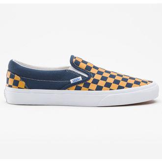 low sneakers women's - Classic Slip-on (Vintage Check) - VANS, VANS