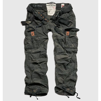 pants men SURPLUS - Premium Vintage - Black Camo, SURPLUS
