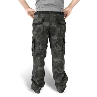 pants men SURPLUS - Premium Vintage - Black Camo - 05-3597-42