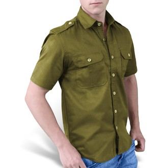 shirt SURPLUS - 1/2 Plain Summer - Olive, SURPLUS