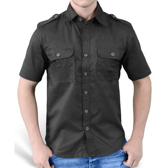 shirt SURPLUS - Plain Summer - Black, SURPLUS