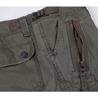 shorts men SURPLUS - Xylontum - Olive Gewas - 07-5610-61