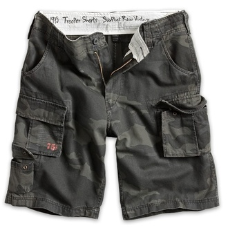 shorts men SURPLUS - Trooper - Black Camo, SURPLUS
