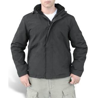 jacket men (anorak) SURPLUS - Windbreaker - Black - 20-7002-03