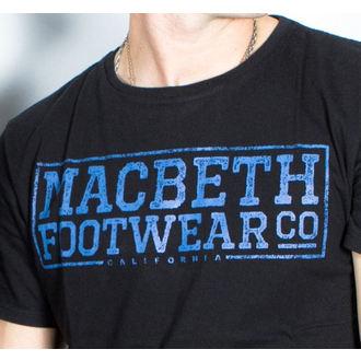 t-shirt street men's - Embossed - MACBETH, MACBETH
