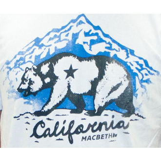 t-shirt street men's - California - MACBETH, MACBETH