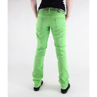 pants women's 3RDAND56th - Super Skinny Hipster - JM391 - LIME