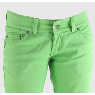 pants women's 3RDAND56th - Super Skinny Hipster - JM391 - LIME