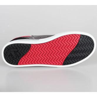 low sneakers men's - ETNIES - Black/Grey/Red