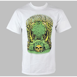 t-shirt metal men's A Day to remember - Bear Skull - VICTORY RECORDS, VICTORY RECORDS, A Day to remember
