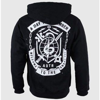 hoodie men's A Day to remember - Snake Pit Black - VICTORY RECORDS, VICTORY RECORDS, A Day to remember