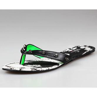 flip-flops women's - IRON FIST - BLACK