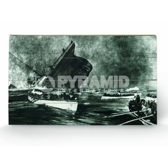 wooden image Titanic (13) - Pyramid Posters, PYRAMID POSTERS