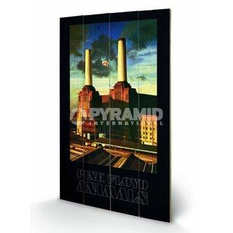wooden image Pink Floyd - Animals - Pyramid Posters, PYRAMID POSTERS, Pink Floyd