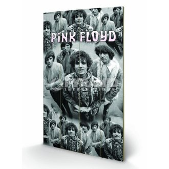 wooden image Pink Floyd - Piper - Pyramid Posters, PYRAMID POSTERS, Pink Floyd